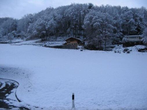 שלג בשווייץ